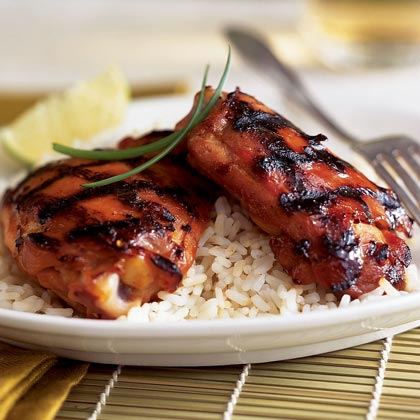 Asian Barbecue Chicken