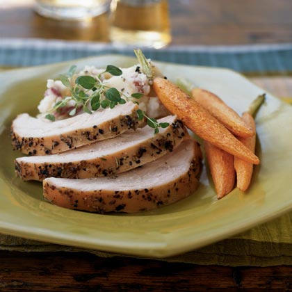 Honey and Thyme-Brined Turkey Breast