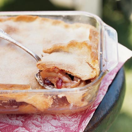 Apple-Cranberry Cobbler