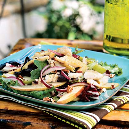Smoked Trout Salad with Apples and Pecans