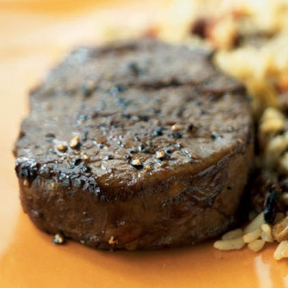 Balsamic and Black Pepper Filet Mignon