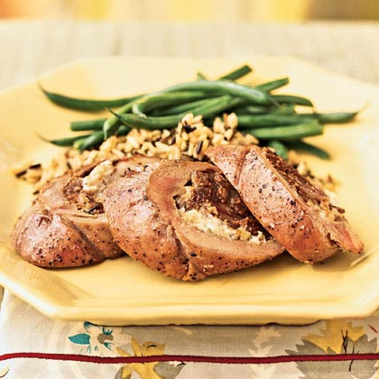 Fig and Blue Cheese-Stuffed Pork Tenderloin