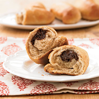 Chocolate-Filled Buns