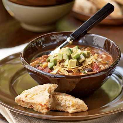 Southwestern Turkey Soup