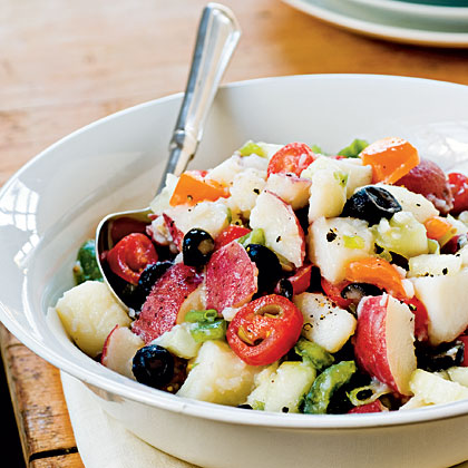 Light and Fresh Potato Salad
