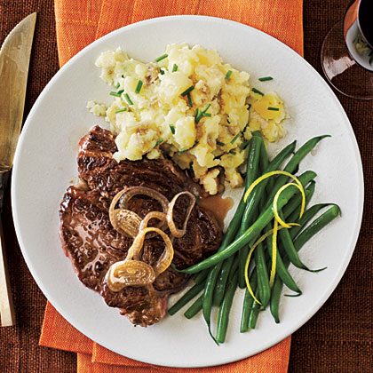 White Wine-Marinated Steak