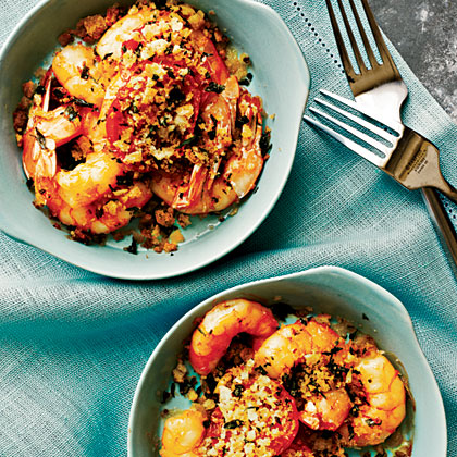Baked Shrimp with Tomatoes
