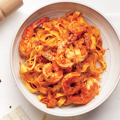 Shrimp Vodka Pasta