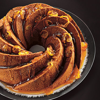 ck-Fresh Ginger Cake with Candied Citrus Glaze
