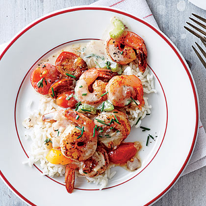 Creole Shrimp and Rice