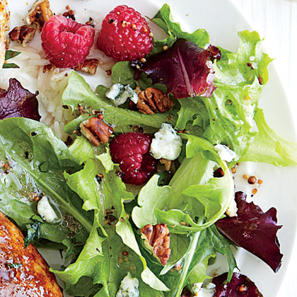 ck-Raspberry and Blue Cheese Salad