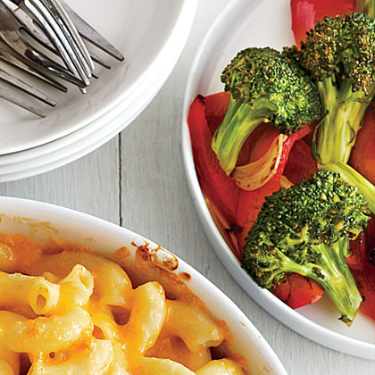 ck-Roasted Broccoli and Red Bell Pepper