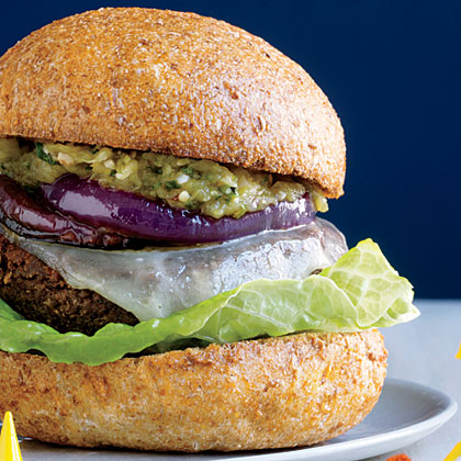 New  New Mexican Green Chile Cheeseburgers