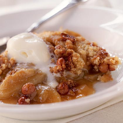 Peanut Brittle-Apple Crisp