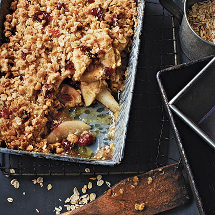 GF Apple, Pear, and Cranberry Crisp