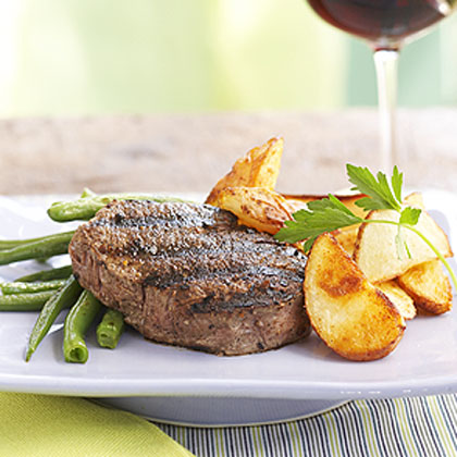 Espresso-Grilled Tenderloin Steaks