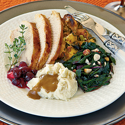 Molasses-Glazed Turkey