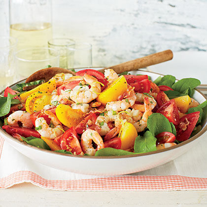 Tomato-and-Shrimp Salad