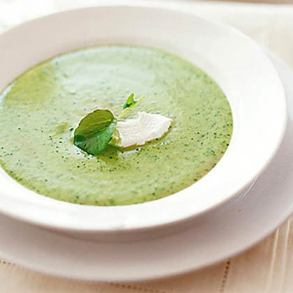 Puree of Watercress Soup