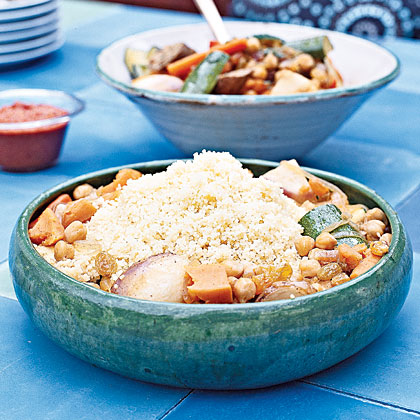 Couscous with Harvest Vegetables