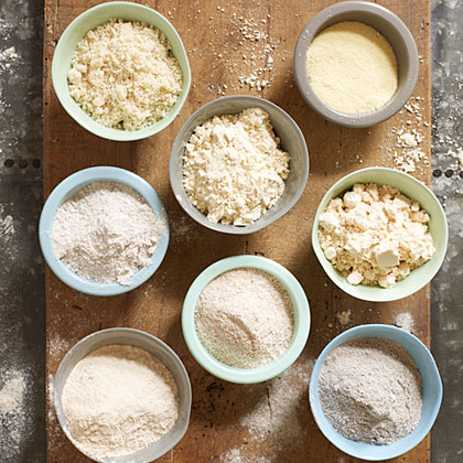 Using Different Flours