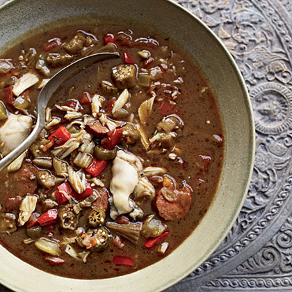 fw-Andouille, Crab and Oyster Gumbo