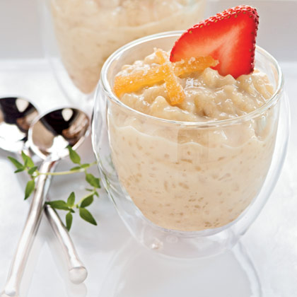 Ginger-Infused Japanese Rice Pudding