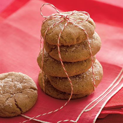 Ginger-Molasses Cookies