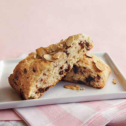 Chocolate-Cherry-Almond Scones