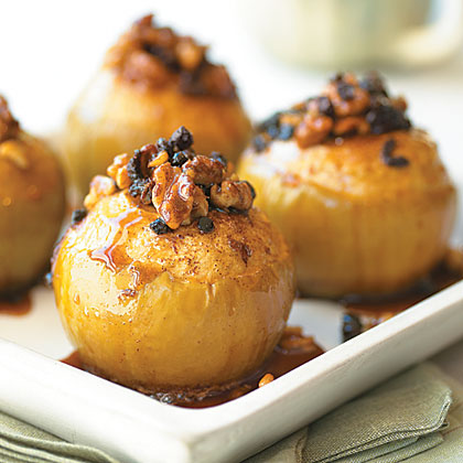 Walnut-Stuffed Slow-Cooked Apples