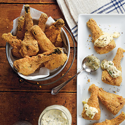 Cornmeal-Fried Artichokes