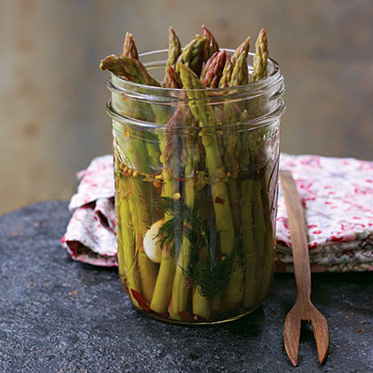 oh-Pickled Asparagus