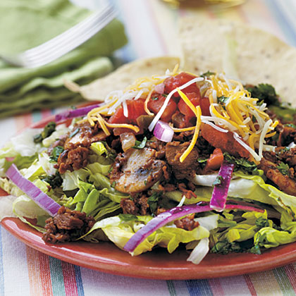 Taco Salad with Cilantro-Lime Vinaigrette