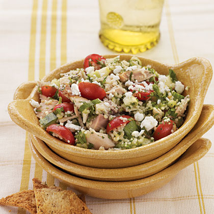 Couscous Salad with Roasted Chicken