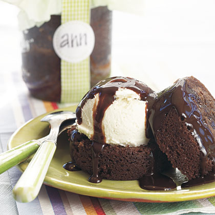 Brownies Baked In A Jar