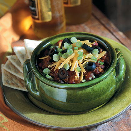 Meaty  Meatless Double-Bean Chili