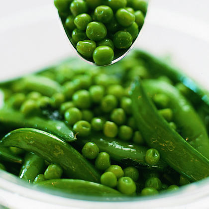 Garlic-Mint Peas