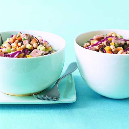 Ham and Black-Eyed Pea Salad