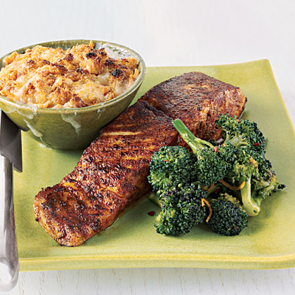 Chili-Rubbed Salmon