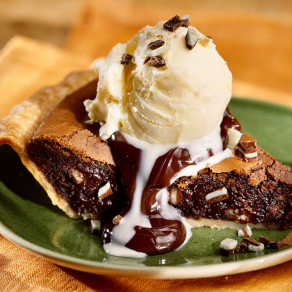 Brownie-Mint Pie