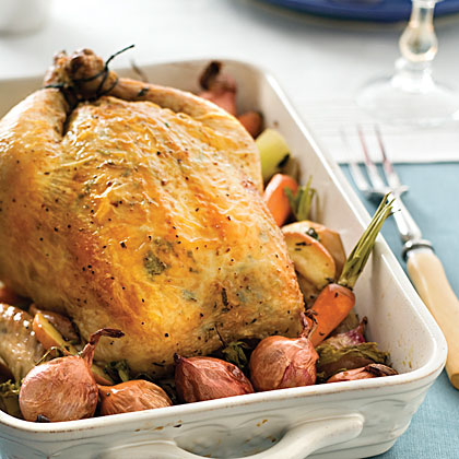 Garlic-Herb Roasted Chicken