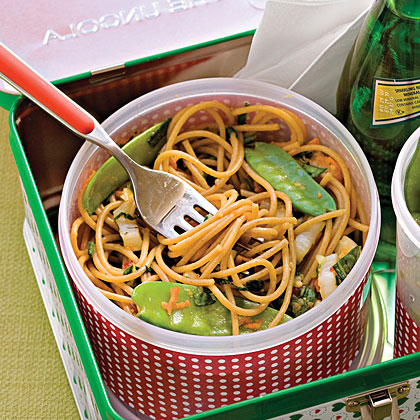 Sweet Chili-Lime Noodles With Vegetables