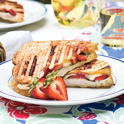 Strawberry-Turkey-Brie Panini
