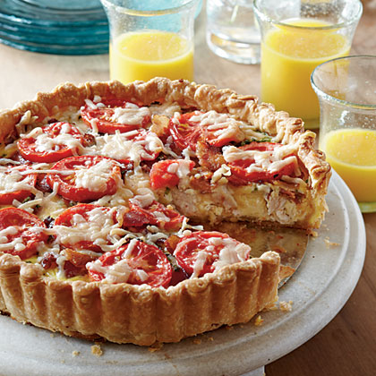 Kentucky Hot Brown Tart