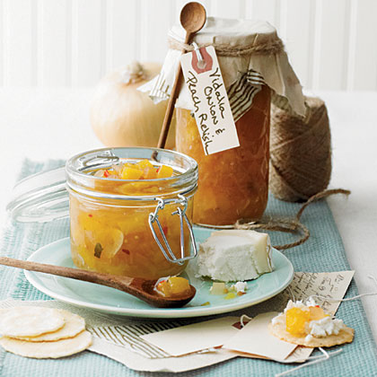 Vidalia Onion and Peach Relish