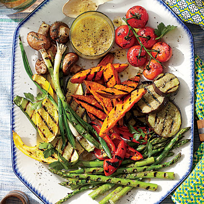 Grilled Summer Vegetable Platter