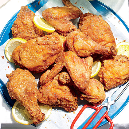 Sweet Tea-Brined Fried Chicken