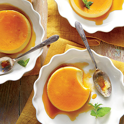 sl-Honey Flans