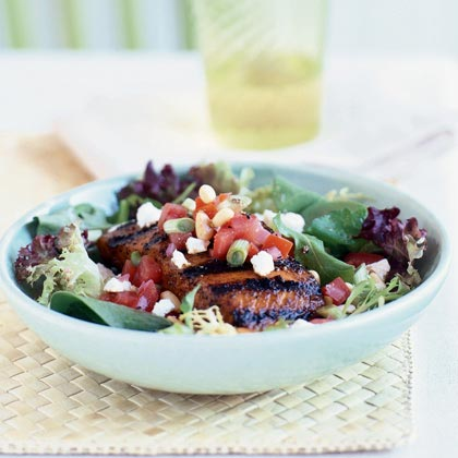 Grilled-Salmon Salad