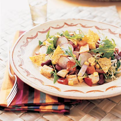 Chopped Barbecued Chicken Salad